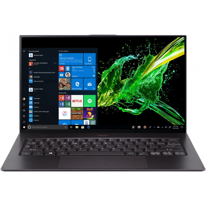 Ноутбук Acer Swift 7 SF714-52T 14.0 Core i7 8500Y RAM 16 Гб  SSD 512 Гб Windows 10 Домашняя (NX.H98ER.009)