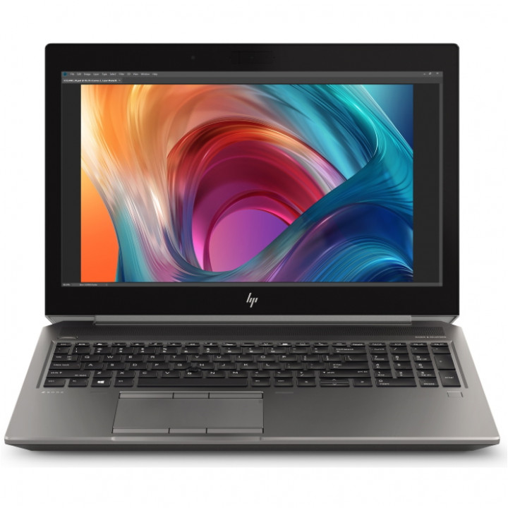 Ноутбук HP ZBook 15 G6 15.6 Core i9 9880H RAM 32 Гб  SSD 512 Гб Windows 10 Профессиональная (6TR62EA)