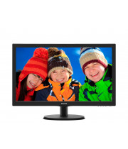 Монитор Philips 21.5 1920x1080 D-Sub HDMI Черный (223V5LHSB)