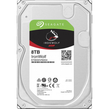 Жесткий диск HDD Seagate 8000 Gb 7200 rpm SATA 3.5 (ST8000VN004)