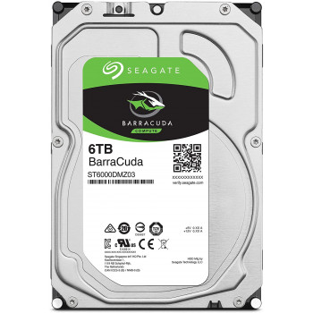 Жесткий диск HDD Seagate 6000 Gb 5400 rpm SATA 3.5 (ST6000DM003)