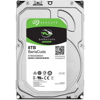 Жесткий диск HDD Seagate 8000 Gb 5400 rpm SATA 3.5 (ST8000DM004)