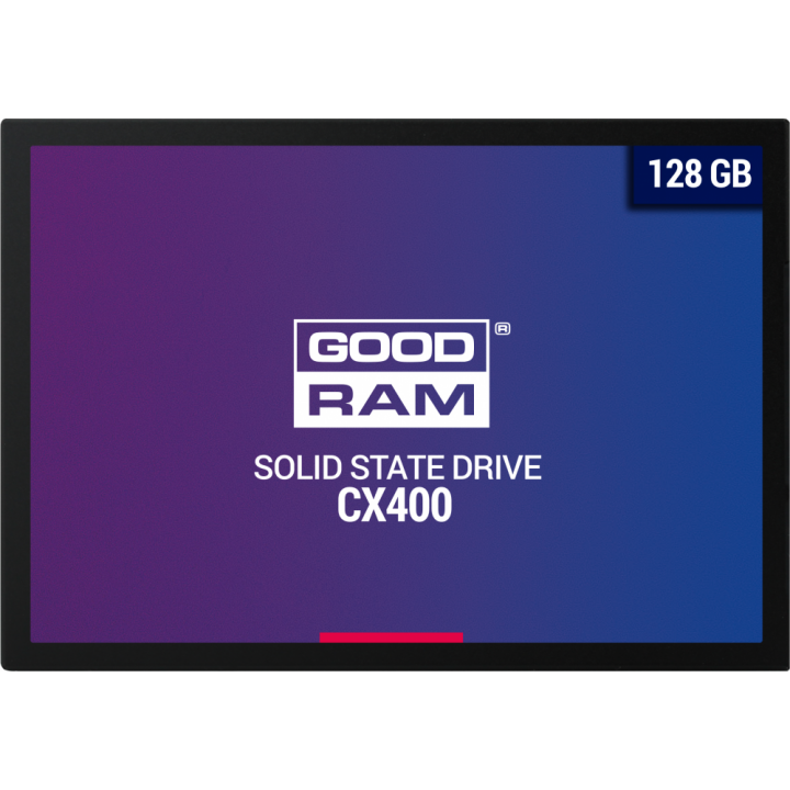 Жесткий диск SSD Goodram 128 Gb 550/450 Mb/s SATA 2.5 (SSDPR-CX400-128)