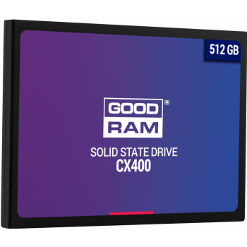 Жесткий диск SSD Goodram 512 Gb 550/490 Mb/s SATA 2.5 (SSDPR-CX400-512)