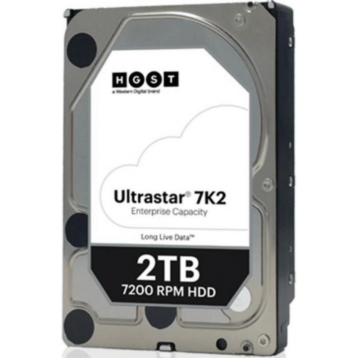 Жесткий диск HDD Western Digital 2000 Gb 7200 rpm SATA 3.5 (1W10002)