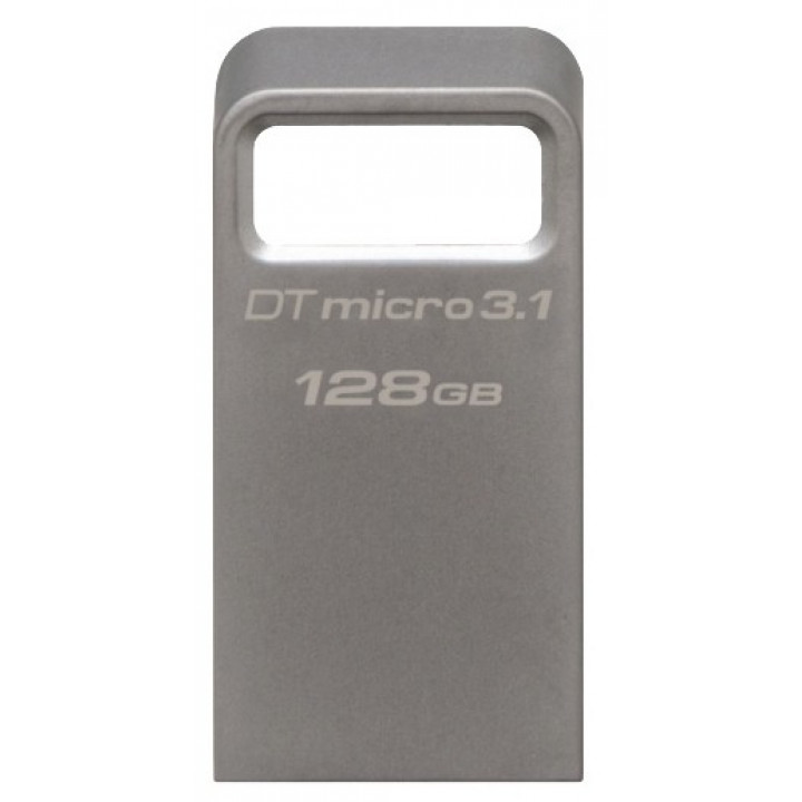 USB-флеш накопитель Kingston 128 Gb USB 3.1 Серебристый (DTMC3/128GB)