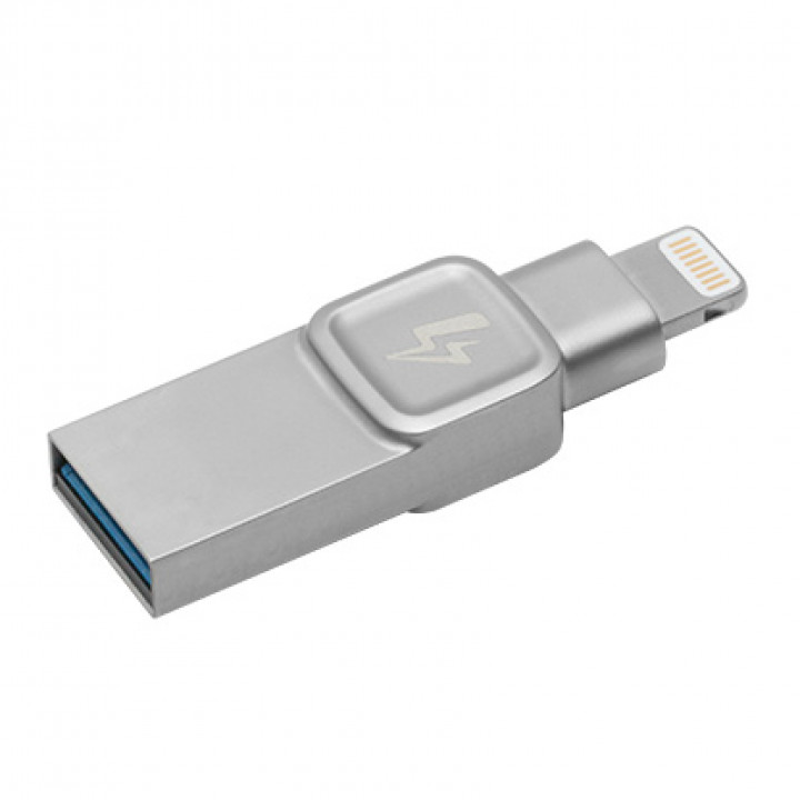 USB-флеш накопитель Kingston 128 Gb USB 3.1 Серебристый (C-USB3L-SR128-EN)