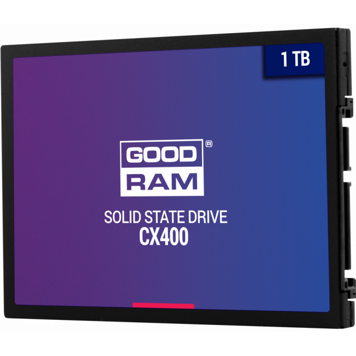 Жесткий диск SSD Goodram 1000 Gb 550/490 Mb/s SATA 2.5 (SSDPR-CX400-01T)